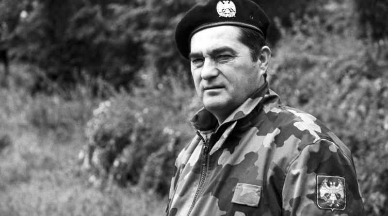 General Nebojsa Pavkovic, commander of the Third Army of the Armed Forces of Yugoslavia. Photo Credit: Ministry of Defense, Republic of Serbia