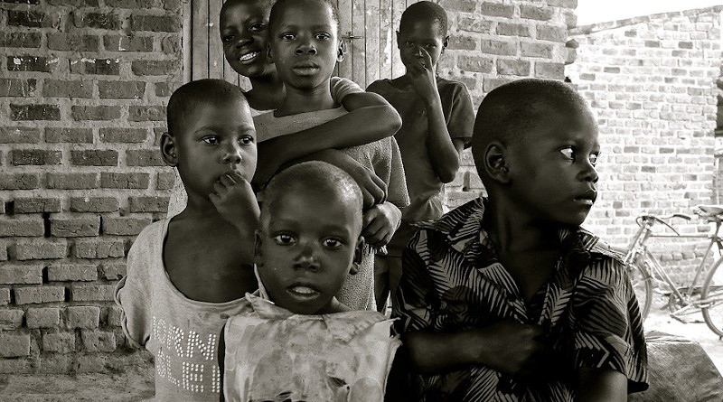 File photo of children in Uganda, Africa