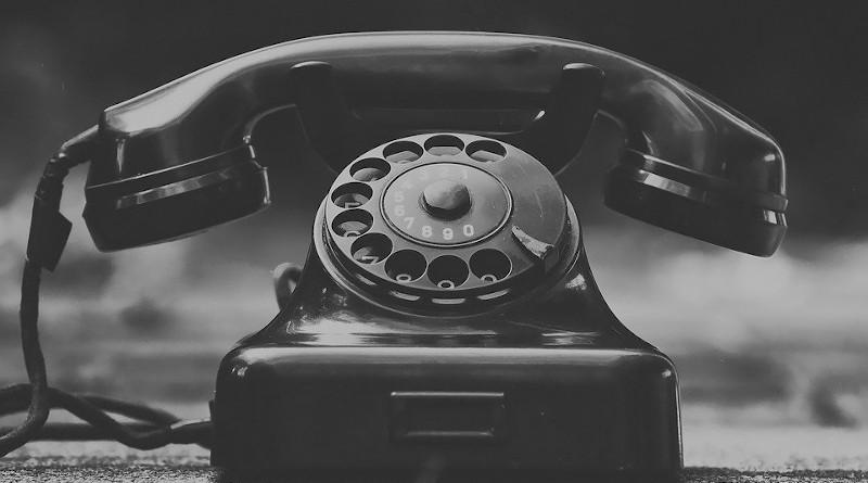 Phone Old Year Built 1955 Bakelite Post Dial Telephone