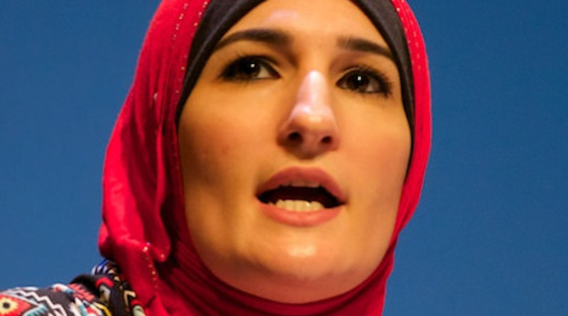 Linda Sarsour. Photo Credit: Festival of Faiths, Wikipedia Commons