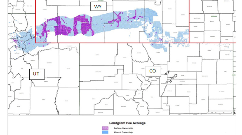 Proposed Occidental Land Purchase: CREDIT: Wyoming Governor's Office