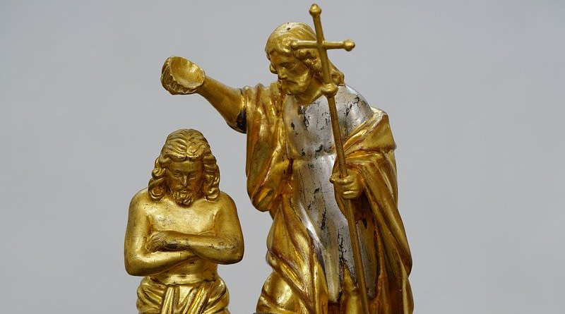 Baptism Figure Christ Symbol Church Religion