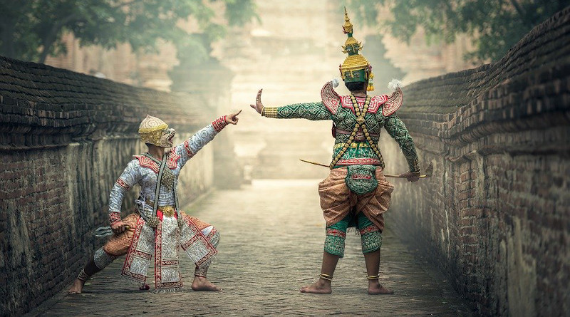 Thailand Actor Bangkok Asia Arts Ancient Cambodia Clothing