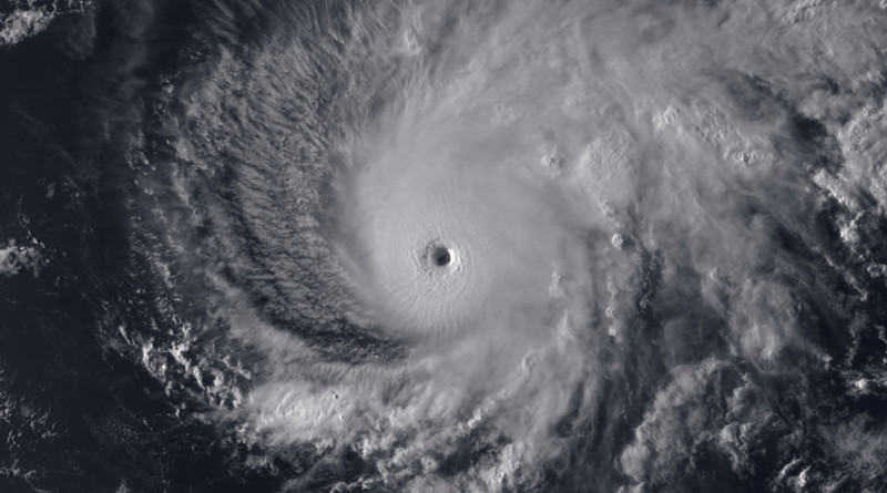 Hurricane Lane. Photo Credit: NOAA GOES-15, Wikipedia Commons