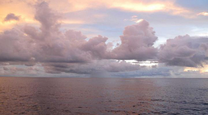 The new study uses a method of tracking the strength of near-shore ocean currents from a distance via measurements of coastal sea level. CREDIT: Photo by Carol Anne Clayson, ©Woods Hole Oceanographic Institution