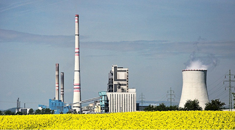 Nuclear Biofuel Power Station Rapeseed