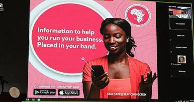 The 50 Million African Women Speak (50MAWS) app aims to help African women entrepreneurs. Photo Credit: Rassin Vannier, Seychelles News Agency