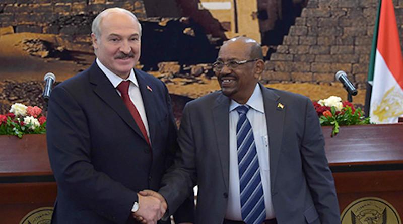 Belarus' Alexander Lukashenko and Sudan's Omar Hassan Ahmad al-Bashir