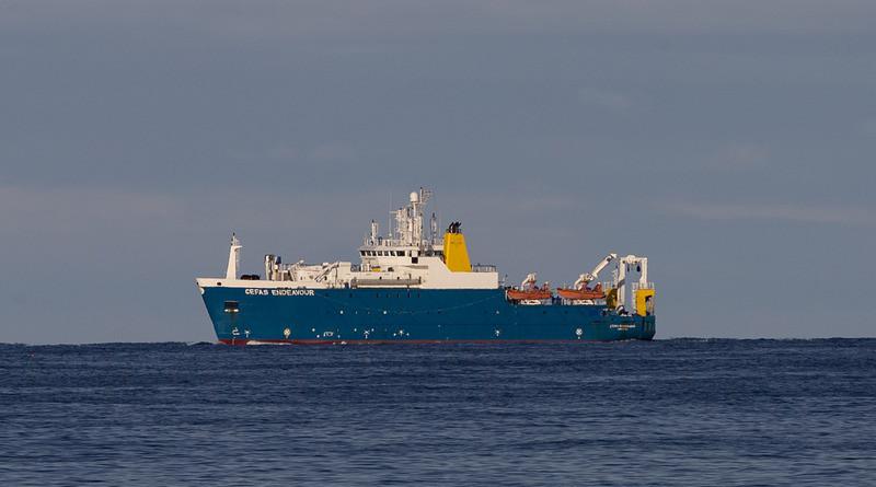 Rv Cefas Endeavour Research Ship Vessel