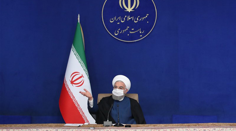 Iranian President Hassan Rouhani. Photo Credit: Tasnim News Agency