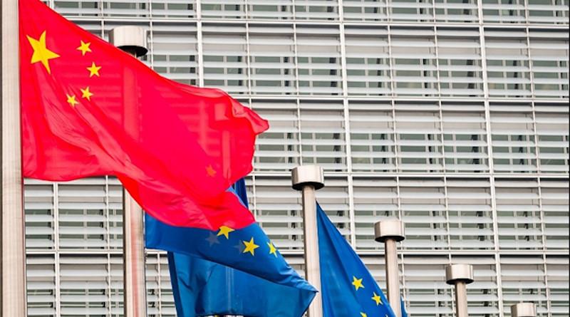 flags china european union