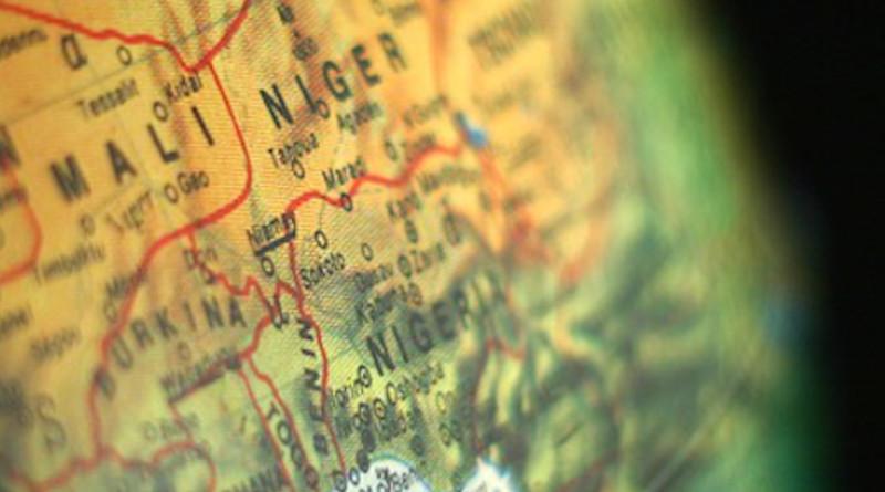 Globe Algeria Niger Mali Africa Continents Earth
