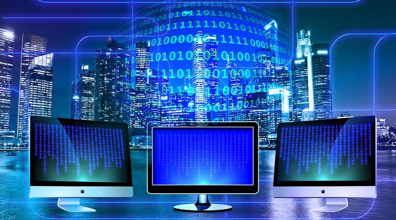 Technology Data Monitor Binary Binary System Computer Binary Code