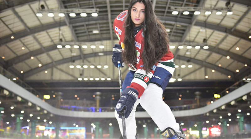 Saudi hockey player Raeah Al-Attas considers it a duty to promote the sport. (Photo/Supplied)