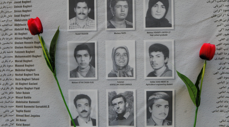 Some of the names of the 30,000 political prisoners executed in Iran in 1988