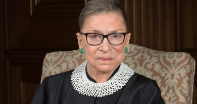 US Supreme Court Justice Ruth Bader Ginsburg. Photo Credit: Supreme Court of the United States, Wikipedia Commons