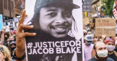 Protest in support of Jacob Blake. Photo Credit: Tasnim News Agency