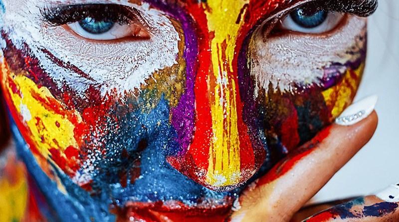 Innovation Creative Creativity Paint Makeup Girl Cosmetics Color Creativity Paint Makeup Girl Cosmetics Color Creativity