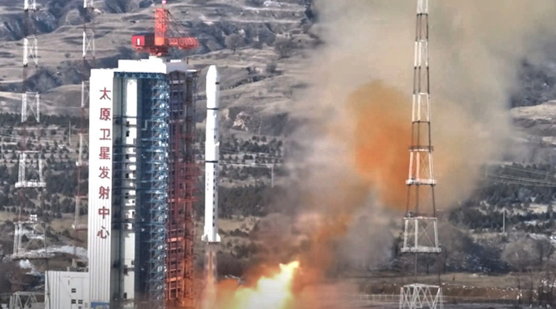 The first Ethiopian satellite launch by China. Source: SatNews