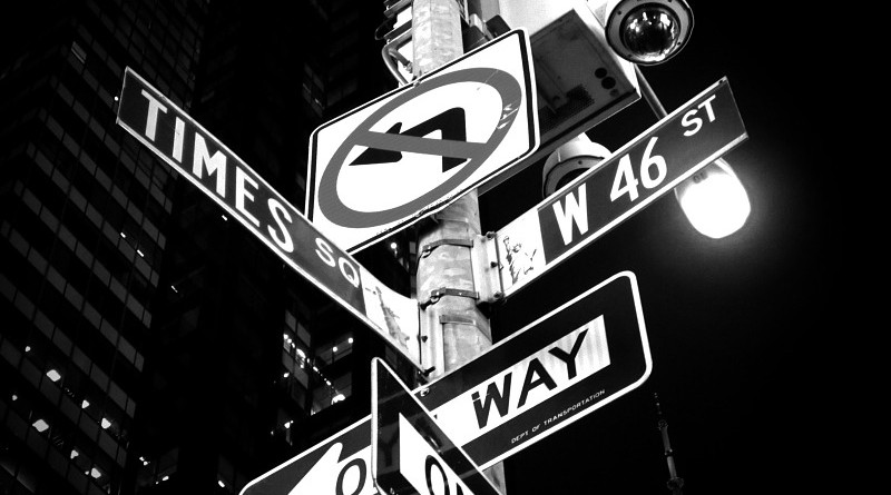 Times Square New York Road Signs Sign Street City