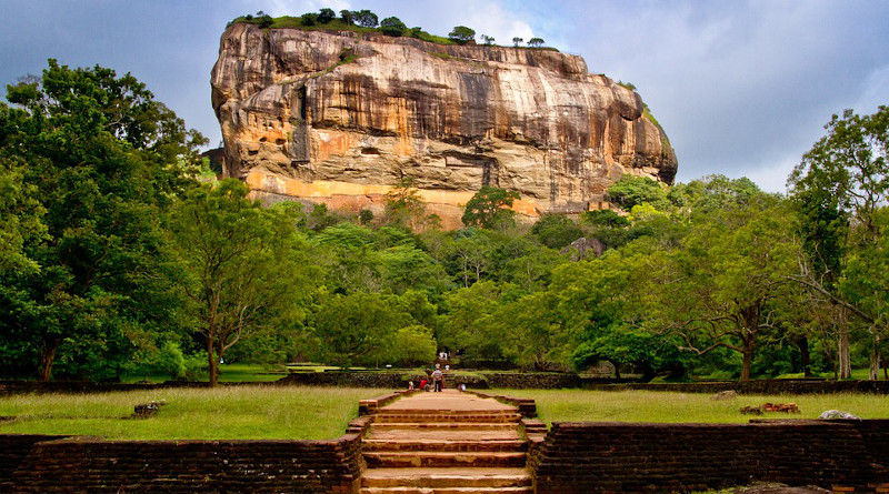 Sigiriya Sri Lanka Dambulla Mountain Unesco
