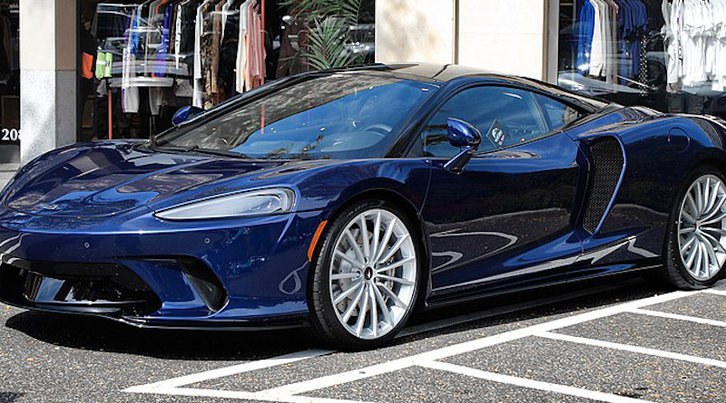 A 2020 McLaren GT. Photo Credit: Kevauto, Wikipedia Commons