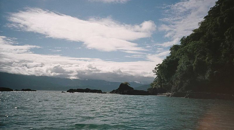 Pacific coast near Nuquí, Colombia near the proposed Tribugá Port. Photo Credit: Luis Perez, Wikipedia Commons
