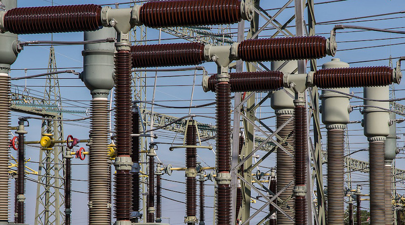 power Substation Electricity Current High Voltage