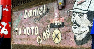 Graffiti in Nicaragua. Photo Credit: Rosa_Poser, from Flirck.com. Open source