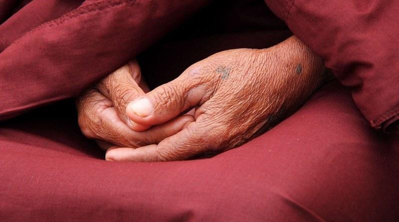 Monk Hands Zen Faith Person Male Pray Religion Buddhist Buddhism