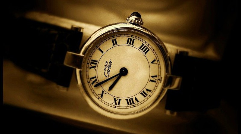 Cartier Clock Time Watches Analog