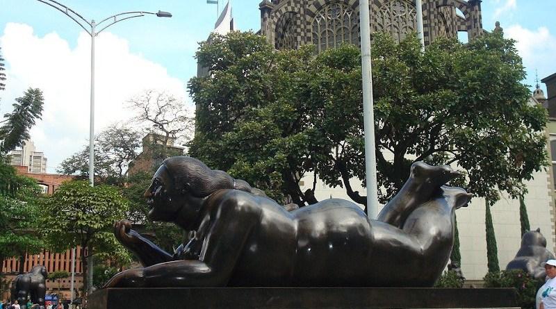 Medellín Colombia Botero Statue Sculpture Artwork
