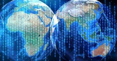 network globe asia middle east binary