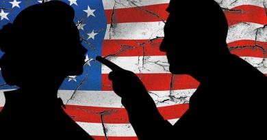 argue politics disagree united states flag