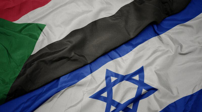Flags of Sudan and Israel. Photo Credit: Shutterstock