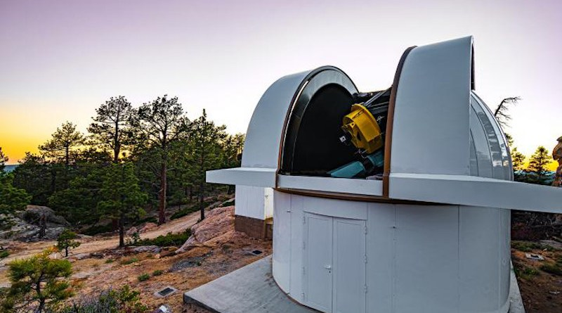 The SAINT-EX Observatory is a fully robotic facility hosting a 1-metre telescope based in Mexico. CREDIT: Institute of Astronomy, UNAM / E. Cadena