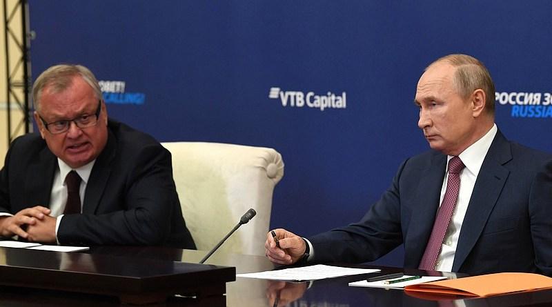 President Vladimir Putin at the Russia Calling, Investment Forum 2020. Photo Credit: Kremlin.ru