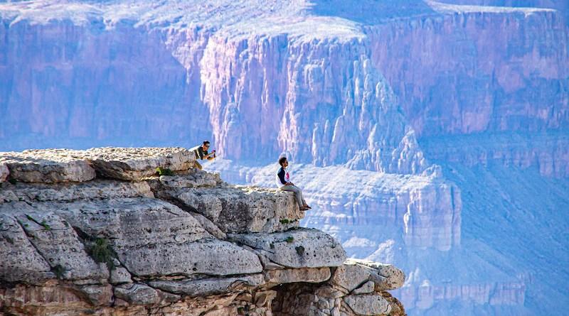 nature selfie Grand Canyon Places Of Interest America Arizona Usa