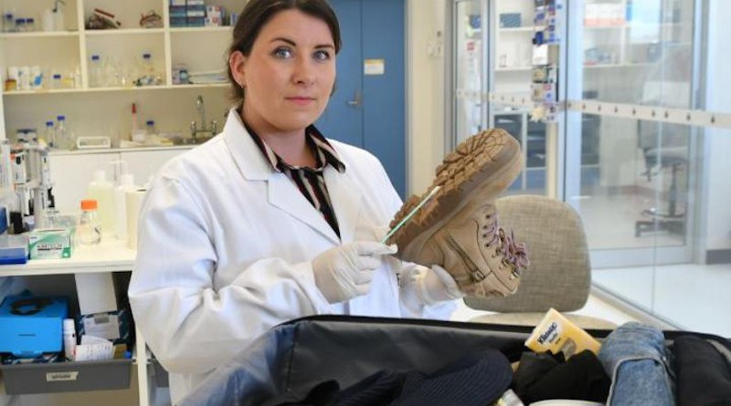 Flinders University forensic DNA technology research associate Dr Jennifer Young CREDIT: Flinders University