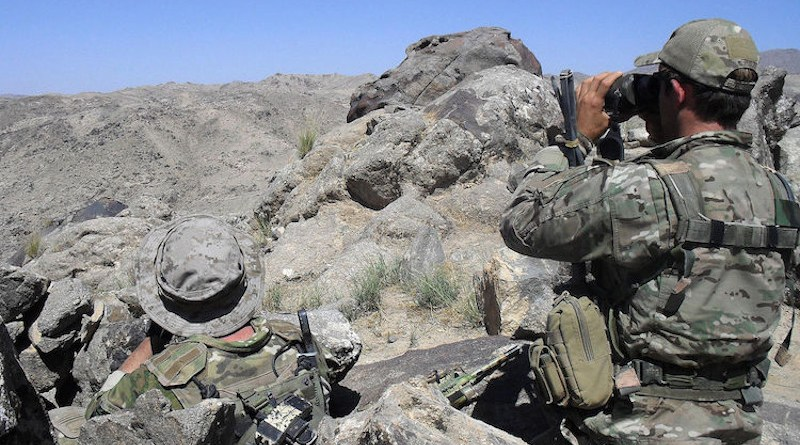 Two Australian soldiers during the Shah Wali Kot Offensive in Afghanistan. CC BY 2.0