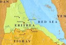 Location of Eritrea and Tigray region in northern Ethiopia