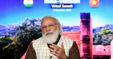 India's Prime Minister, Shri Narendra Modi addressing at the India-Vietnam Virtual Summit, in New Delhi on December 21, 2020. Photo Credit: PM India Office