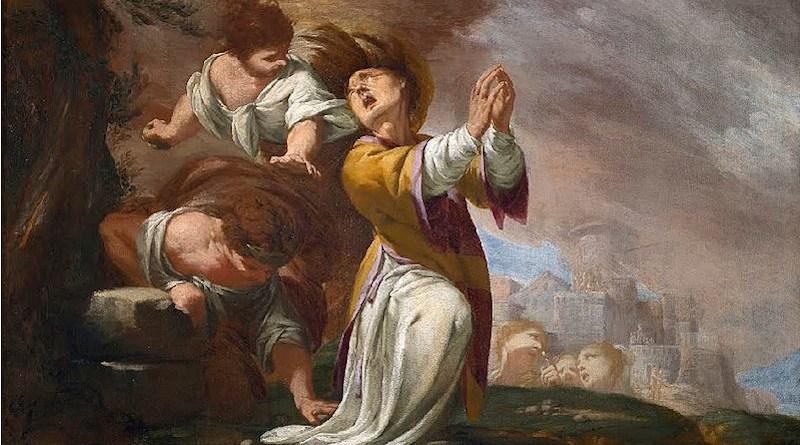 Stoning of Saint Stephen by Giovanni Battista Lucini