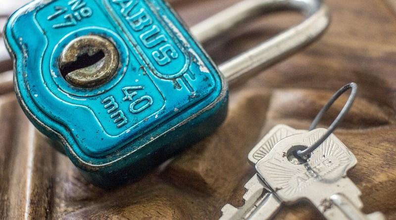 Privatization Lock Key Vintage Creative Security Safe Door