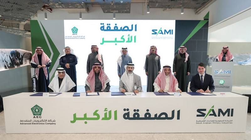 SAMI, which is a subsidiary of the Public Investment Fund (PIF), announced the deal on Monday during a ceremony attended by senior officials from the Defense Ministry, the General Authority for Military Industries and board members from both companies. (Supplied)