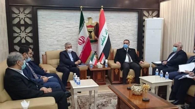 Meeting between Iran and Iraq officials. Photo Credit: Tasnim News Agency