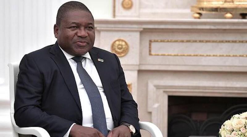 File photo of President of Mozambique Filipe Nyusi. Photo Credit: Kremlin.ru