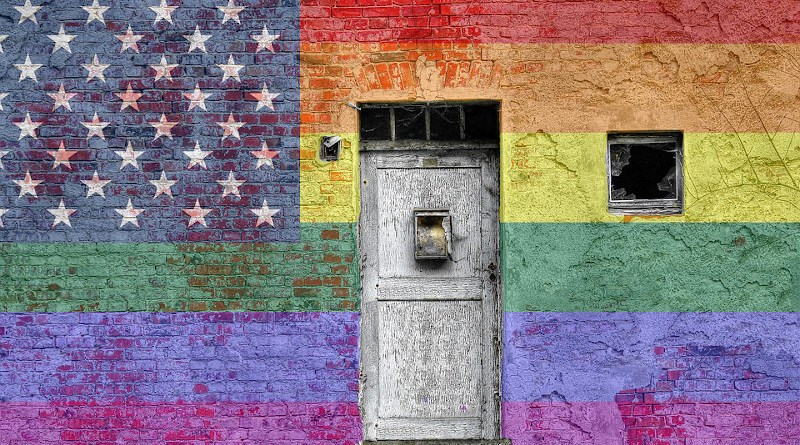 flag united states Gay Pride Flag Wall Graffiti Rainbow