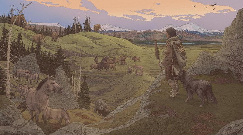 Early settlers in the Americas were accompanied by their dogs CREDIT Ettore Mazza