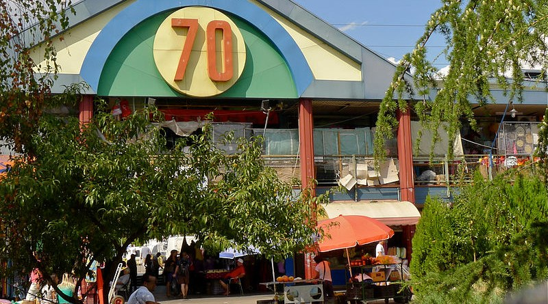 Blok 70, the biggest Chinatown in Serbia. Photo Credit: Тајга, Wikipedia Commons